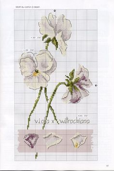 "labadee.gallery.ru watch?ph=QJU-bGiUf&subpanel=zoom&zoom=8 [   ""Gallery.ru / Фото - De fil en Aiguille 62 - 2008 - Labadee"",   ""Gallery.ru / FA Nisan-mag 08 - DFEA # 62 - ingulja"",   ""Flowers - Violeta"",   ""pixels"",   ""viola"" ] # # #Stich #Flower, # #Cross #Stitch #Flowers, # #Cross #Stitch #Patterns, # #Flowers #Cs, # #Flower #Rose, # #White #Flowers, # #Flowers #Violeta, # #2008 #Labadee, # #Crossstitch #Scheme"