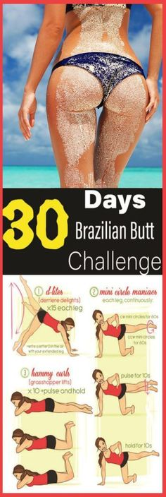 Lift and tone your butt in five minutes with these exercises. Brazilian women are famous for their gorgeous bodies, but you don't have to go to Rio to get a beautiful butt. So I have something real…