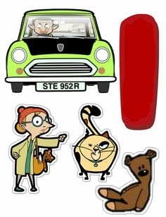 Mr Bean Birthday, Birthday Bash, Teddy Drawing, Party Cakes, Diy Art, Scooby Doo, Beans, Scrap, Party