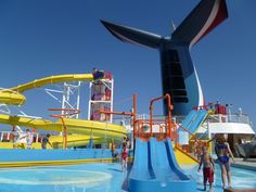 Carnival fascination waterpark.  awesome!