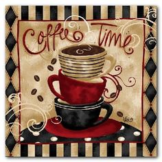 Coffee House Themed Kitchen Decor - Decorating Ideas for a Coffee ...