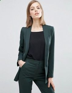 60 Best Casual Street Style Blazer Outfits Inspirational Ideas For Women - Page 53 of 60 - Diaror Diary Business Outfit Frau, Business Outfits, Business Attire, Business Casual, Summer Work Outfits, Office Outfits, Work Outfits For Women, Office Uniform, Office Looks
