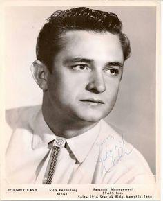 Johnny Cash-----------Sun Recording Artist Pic