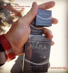 Tobacco Free, Nicotine Free and Tar Free. 100% dense and intense flavor.