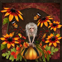 New artdolls by Xquizart called Witch Way-Mini Kit. It is available here; http://www.mischiefcircus.com/shop/product.php?productid=23987&cat=0&page=1 Also used Whimsy's Flutterby Butterfly-Beyond The Pumpkin Patch Stone add on-Beyond The Pumpkin Patch Honey Papers-Carmello Papers by Xquizart. Available here; http://www.mischiefcircus.com/shop/manufacturers.php?manufacturerid=52 Used Falloween Mash Up. It is available here; http://www.mischiefcircus.com/shop/product.php?productid=23977&cat=2