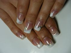 Cute Nails With Diamonds – www.x…… Nice Cute Nails With Diamonds – www.x… The post Cute Nails With Diamonds – www.x…… appeared first on Menimadec . Shellac Nails, French Manicure Gel Nails, Simple Gel Nails, Black Gel Nails, French Nails, French Manicures, Nail Gel, Nail Polish, Diamond Nail Designs