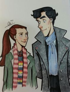 There may come a day in which I stop shipping Sherlolly, but it is not this day!!
