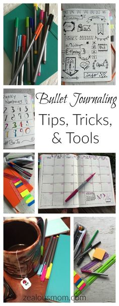 Are you a fan of bullet journaling? Check out these tips, tricks, & tools to make your Bullet Journal even more creative and fun.