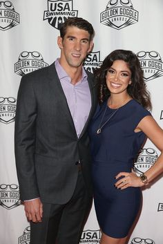 Michael Phelps and his fiancée, Nicole Johnson, first began dating in and after taking a short break in the pair reunited in Cute Celebrity Couples, Celebrity Babies, Nicole Johnson, Welcome Baby Boys, Olympic Swimmers, Olympic Champion, Michael Phelps, Famous Couples, Sports Stars