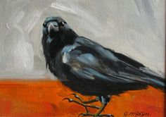 Art From My Easel...by Jacqueline McIntyre: Crow