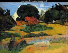 The Swineherd - Paul Gauguin - www.paul-gauguin.net