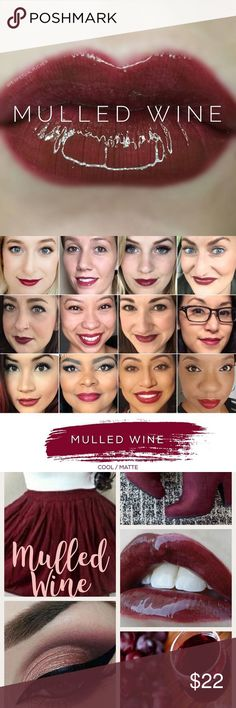 Mulled Wine LipSense LipSense is a patented, amazing departure from conventional lipstick and lip colors. LipSense is versatile in that you can mix shades to create a number of effects.   This unique product is waterproof, kiss proof, smudge proof, rub proof, and budge proof! It does not dry out your lips!  For first time users, it's recommended to purchase a starter kit (which consists of a glossy gloss, color and remover). I have each in my shop so if you need a starter kit please just…