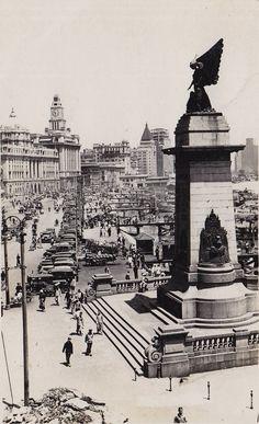 The Bund around 1935, Shanghai