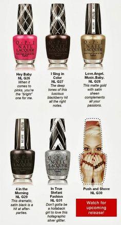 Gwen Stefani Nails It