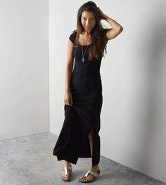 True Black AEO Maxi Kate Dress