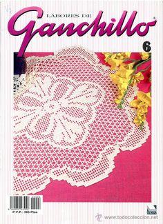 Revista *LABORES DE GANCHILLO Nº 6 · Agosto 1995* -- Crochet --