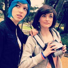 An on set selfie of our own Max and Chloe! #LISweek  #chloeprice #maxcaulfield #maxcaulfieldcosplay #chloepricecosplay #lifeisstrange #lifeisstrangecosplay #cosplay #videogamecosplay #liscosplay #lis #pricefield