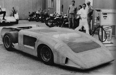 the original intent of the design was that it would be a pure, inverted airfoil-shaped, closed roof coupe with driver visibility depending on a forward window in the front bodywork and the big side windows. Apparently the ground effects air pressure ruined the air foil aerodynamics and the lack of visibility really spooked the drivers. Sad chapter in the Chaparral story.