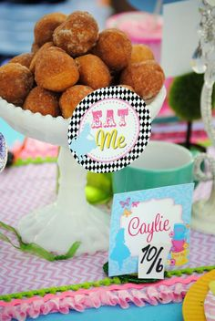 Alice in Wonderland, Mad Tea Party Birthday Party Ideas | Photo 1 of 36