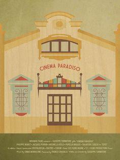 Key Art Awards | Student - Cinema Paradiso Movie Poster /