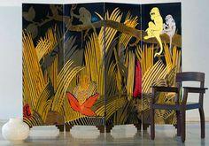 Art Déco - Paravent - Jean Dunand