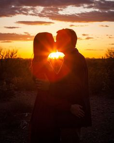 Chris & Meagan's Phoenix Sunset Engagement! http://justbridalbeauty.com/real-life/e-sessions/chris-meagans-phoenix-sunset-engagement/