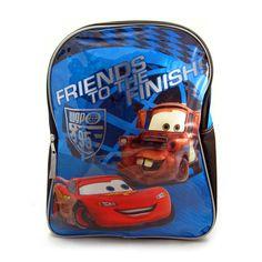 "Disney Cars Lightning McQueen 15"" Boys Backpack, $8.99"