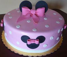 Minnie mouse tarta fondant de Catcakes Fondant Pinterest Cake
