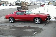 1976 Chevy Camaro -My 1st car
