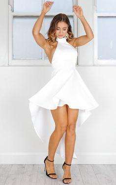 A-Line Juniors' Dresses,Sleeveless High Low Short Prom Dresses,White Homecoming Dresses on Storenvy White Homecoming Dresses, High Low Prom Dresses, Hoco Dresses, Lace Evening Dresses, Junior Dresses, White Formal Dresses, Teen Dresses, Dress Prom, Spring Dresses