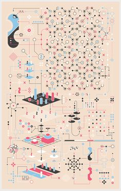 Abstract Infographic by Jonathan Petersen Information Visualization, Data Visualization, Web Design, Game Design, Illustration Design Graphique, Technical Illustration, Diagram Chart, Pochette Album, Information Design