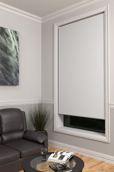 Roller Blockout Blinds offer that contemporary look of clean lines and smooth surfaces while keeping you private and in the dark. Blockout Blinds, Blinds Online, Open Plan Kitchen Living Room, Blinds Design, White Rooms, Roller Blinds, Home Reno, Window Coverings, House Plans