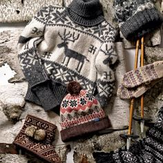 Keep warm this season with these Scandinavian inspired pieces.