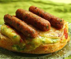 Nutritiva e saborosa, fica excelente no hot dog e no churrasco vegano.