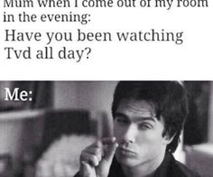 The Vampire Diaries Damon Salvatore so true Serie The Vampire Diaries, Vampire Diaries Wallpaper, Vampire Diaries Quotes, Vampire Diaries The Originals, Stefan Salvatore, Damon Salvatore Vampire Diaries, Funny Relatable Memes, Funny Texts, Tired Of People