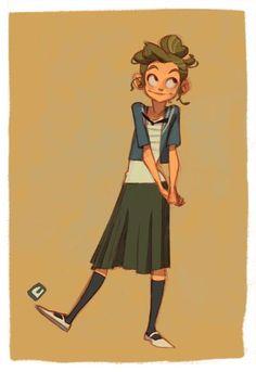 Anna Cattish #illustration