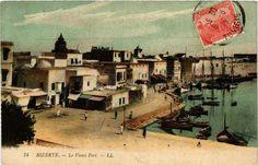 CPA TUNISIE-Bizerte-Le Vieux Port (239209)