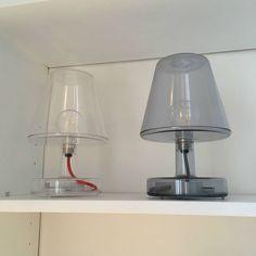 Lampa stojąca LED Niebieski Wys 31cm CYBORG Lampy stojące