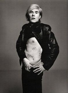Энди Уорхол (Andy Warhol) - Фотограф Ричард Аведон (Richard Avedon)