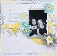 Hello Sunshine - Scrapbook.com