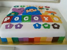 Pocoyo Decorations | allcupcakestory: Pocoyo & Friends Cake
