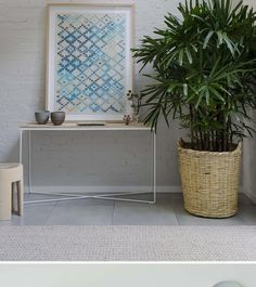 A hint of blue . Loving this subtle and understated mix of white, grey and pale blue in this Norther...