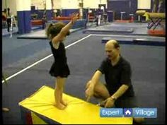 Learn forward roll exercises and how to instruct preschool gymnastics classes, including tumbling and basic gymnastic exercises for young children, in this free children's video.    Expert: Sibylle Walters  Contact: www.flairsgymnastics.com  Bio: Sibylle Walters founded Flairs Gymnastics in 1990. She is a former German National Gymnastics Champion. ...
