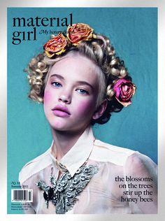 Material Girl Magazine No. 14, Summer 2011 #cover | Emma by Elliot & Erick Jimenez
