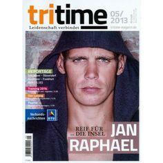 TRITIME 5/2013 - das Triathlon Magazin. Mit Jan Raphael. Zum Webshop (versandkostenfrei) durch Klick auf das Cover!