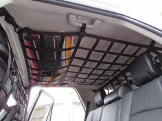 2010 - newer Toyota 4Runner 5th Gen Front to Back Ceiling Storage #carcampingaccessories