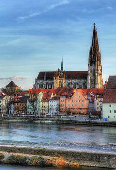 #rivercruise #Regensburg, #Germany