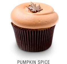 pumpkin spice cupcake recipe from Georgetown Cupcakes...made these yesterday and added some chocolate chips, they are delicious.