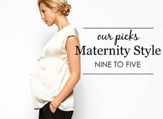 {Project Nursery Picks: Maternity Clothes for Work}