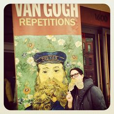 Braved the cold and made it to the #phillipscollectiondc to see #vangogh 's #repetitions !!!! #instavangogh (from @royalpain78)